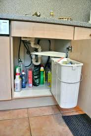 under the sink trash can kitchen cabinet trash can under sink trash can with lid kitchen cabinet door mounted creative cabinets sink trash disposal clogged