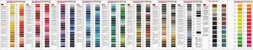 Madeira Embroidery Thread Colour Chart Madeira Polyneon Thread Color Chart Best Picture Of Chart