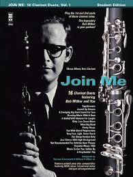 Amazon.com: Bob Wilbur - Join Me: 16 Clarinet Duets (9781596157255 ...
