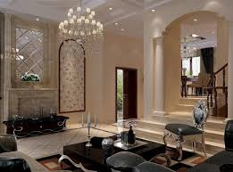 Upscale Living Room Furniture Living Room Luxury Living Room With Foyer Wall With Chandelier