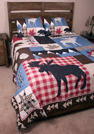 cabin bedding rustic sets canada