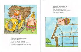 james marshall the three little pigs 1989 second pig builds his house