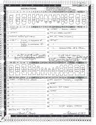 Manual Charting In Dentistry File Dental Chart 1987 Daly City Jane Doe Jpg Wikimedia