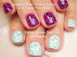 Nail Art Designs - Easy Nail Art for Short Nails - 2 DIY Animal ...