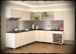 Kitchen Cabinet Designs In India Ideas L Shaped Indian S Fl With