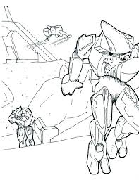 Small Picture Halo Coloring Pages To Print Coloring Home