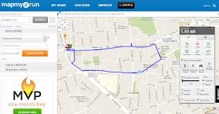 running map – finding my strong