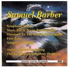 samuel barber andrew schenck symphony orchestra  samuel barber symphony no 2 essay no 1 adagio for strings