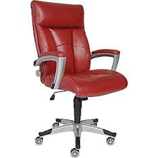 sealy roma bonded leather executive chair red 19999 bedroomsplendid leather desk chair furniture office sealy