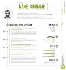 cv resume template stock photos images pictures images mini stic cv resume template royalty stock image