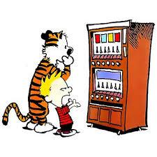 Vending Machine Clipart Mesmerizing Calvin Hobbes Vending Machine Lightweight Hoodie By ElexElexan
