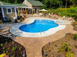 in ground swimming pool. We Turn Your Backyard Into An Elegant Outdoor Oasis With A Custom-built, Underground Pool In Ground Swimming P