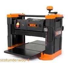 benchtop planer. new wen benchtop thickness planer granite table wood boards 12.5 in-model # 6550 ebay