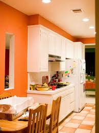 Paint For Kitchen Walls Orange Painted Kitchen Walls Google Search Kitchen Ideas