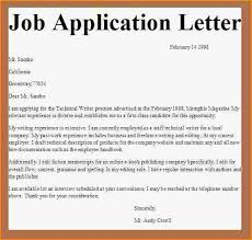 Application For Job Class Business Letter Examples Knowing