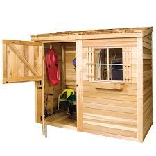 cedarshed common 8 ft x 4 ft interior dimensions 7 75