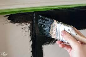 paint fireplace tile painted tile fireplace surround paint fireplace tiles black