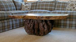 Rustic Table Rustic Coffee Table Burl Table