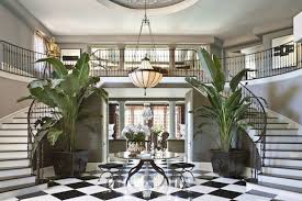 deco home furniture. old hollywood glamour was a fitting decorating style for jeff andrews when designing the entryway home of kris jenner matriarch deco furniture