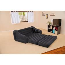 Couches With Beds Inside Intex Queen Inflatable Pull Out Sofa Bed Walmartcom