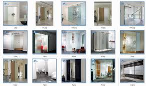 Tiptop Door Type Double Glass Type Aluminium Sliding Doors Sandblasting  Front Door