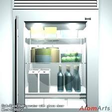 sub zero mini refrigerator glass door salary fridge midea costco sala