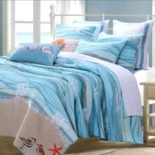 beach hut double duvet cover coastal beach nautical blue cotton quilt set beach duvet cover nz