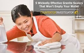 5 wickedly effective granite sealers that won t empty your wallet