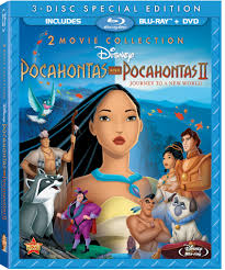 review pocahontas and pocahontas ii on blu ray sippy cup mom