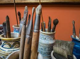 what were the materials that picasso used in his art work