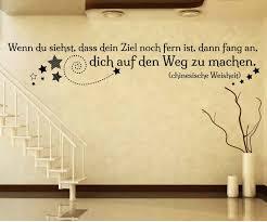 Wandtattoo Spruch Ziel Wandsticker Zitate Tattoo Zitat Weisheit