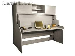 unique multifunctional single wall bed with desk fold