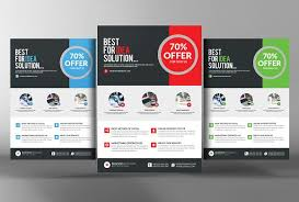 marketing slick template business product flyer templates flyer template product best free