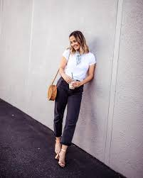 Lovely day nights outfits ideas makes look beautiful Wardrobe Dress Up Your White Tee With Heels The Everygirl What To Wear To Concert Outfit Ideas To Inspire You The