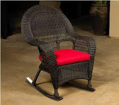 black wicker rocking chair. Brilliant Wicker High Back Wicker Rocking Chair Inside Black