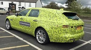 2017 Jaguar XF Sportbrake - Prototype - YouTube