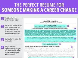 Resume Tips For Career Change Career Change Resume Examples Skills Cv Samples Free To Teacher