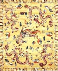 area rugs dynasty ochre rug print asian style furniture design course philippines purchasing genuine versus look