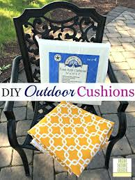 decoration patio cushions diy padded bike seat cover