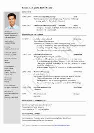 Technical Resume Resume Format For Technical Jobs Elegant Best Resume Formats For 73