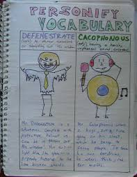 this is a terrific post about personification writing in writer s personifying vocabulary is a wonderful writer s notebook challenge if you this page check out the student samples at the bottom of the page