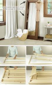 leaning storage mirror tutorial leaning storage mirror pic for 25 diy small apartment decorating ideas on a budget