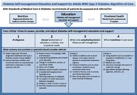 diabetes self management education and support in type diabetes   figure