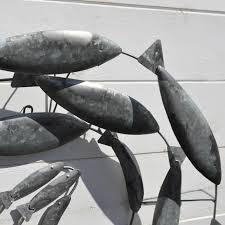 fish swirl wall art metal  on fish swirl metal wall art with fish swirl wall art metal coastalhome uk home garden