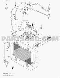 Auto air conditioning parts diagram 15 air conditioning swift rs413 rs413 suzuki of auto air conditioning