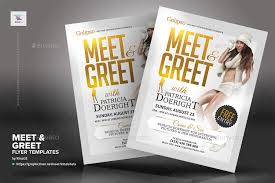 Meet And Greet Flyers Templates Meet Greet Flyer Templates