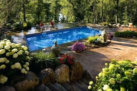 pool designs and landscaping. Landscaping Around Inground Pool Medium Size Of Designs Luxury Landscape Design Backyard And N