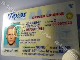 Texas Cards Id-chief Id Scannable Maker Fake