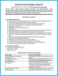 Agile Business Analyst Resume Technical Business Analyst Resume Samples Enderrealtyparkco 6