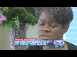 Houston woman explains why she hightailed it to Hollywood without telling  family - YouTube